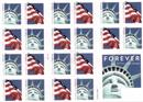 US Postage Stamps-Book