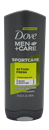 Dove Men+Care Sportcare Active+Fresh Body & Face Wash
