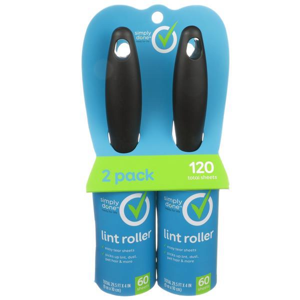 Simply Done Lint Roller 2 - 60 Sheet
