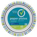 "Simply Done Designer 6 13/16"" Paper Plates"