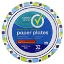 "Simply Done Heavy Duty 8 5/8"" Paper Plates"