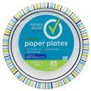 Simply Done Designer Paper Plates