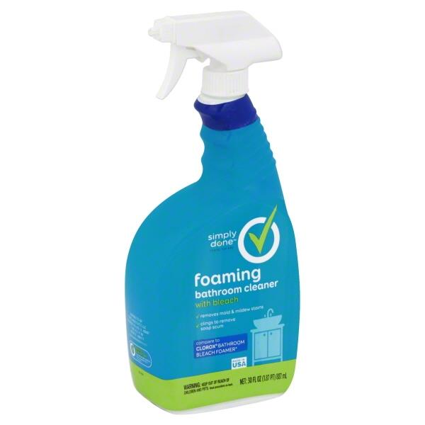 Simply Done Bathroom Cleaner