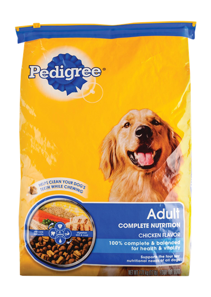 Pedigree Dog Food Nutrition Facts