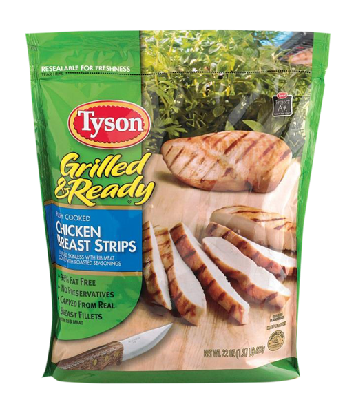 Tyson Grilled & Ready Chicken Breast Strips | Hy-Vee ...