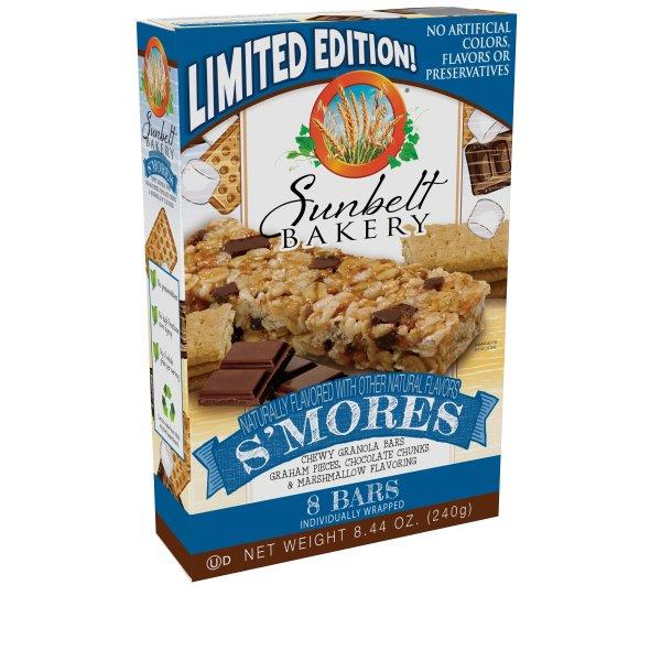 Sunbelt Bakery S'Mores Chewy Granola Bars 8Ct
