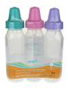 Evenflo Classic Clear Bottles 0-3M 8oz