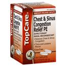 TopCare Health Chest Congestion & Sinus Congestion Relief PE Caplets