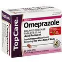 TopCare Omeprazole Acid Reducer Tablets 3/14 Day Course