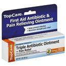 TopCare Triple Antibiotic Ointment + Pain Relief