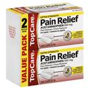 TopCare Pain Relief Acetaminophen 500mg Caplets 2-100 Ct