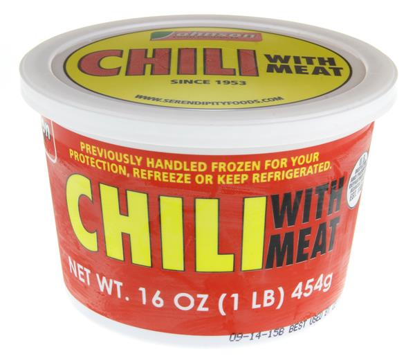 Johnson Food Products Chili with Meat