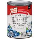 Duncan Hines Wilderness Simply Blueberry Pie Filling & Topping