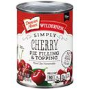 Duncan Hines Wilderness Simply Cherry Pie Filling & Topping