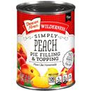 Duncan Hines Wilderness Simply Peach Pie Filling & Topping
