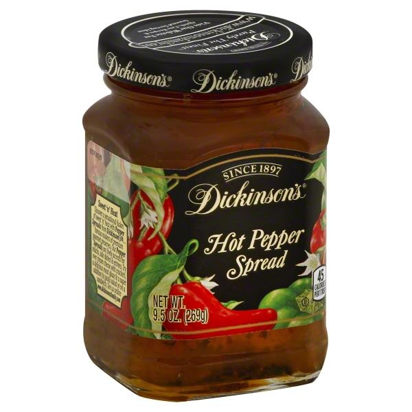 Dickinsons Hot Pepper Spread