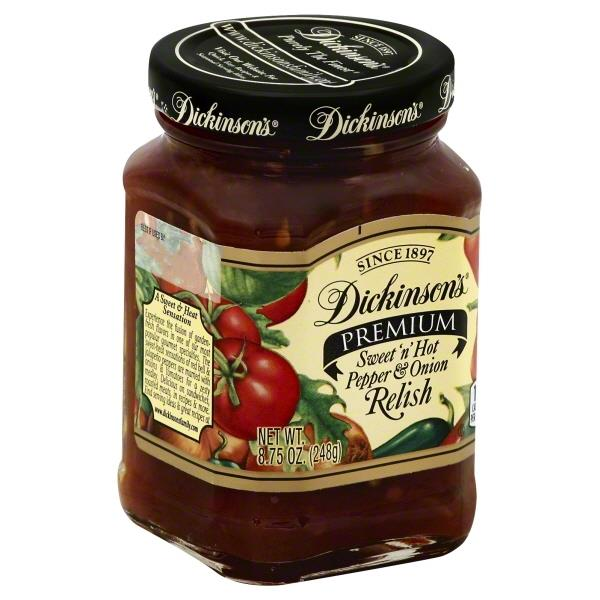 Dickinsons Sweet n Hot Pepper & Onion Relish