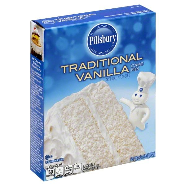 Pillsbury Traditional Cake Mix
