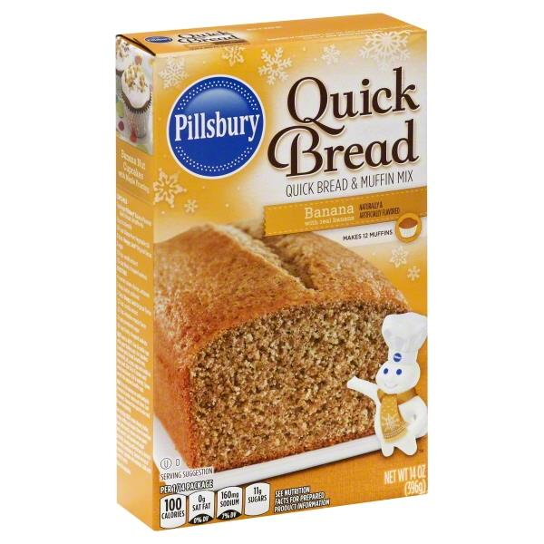 Pillsbury Banana Quick Bread & Muffin Mix