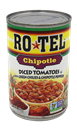 Rotel Chipotle Diced Tomatoes with Green Chiles & Chipotle Peppers