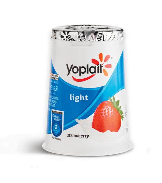 Yoplait Light Strawberry Fat Free Yogurt | Hy-Vee Aisles ...
