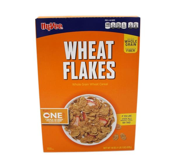 Hy-Vee One Step Wheat Flakes Cereal