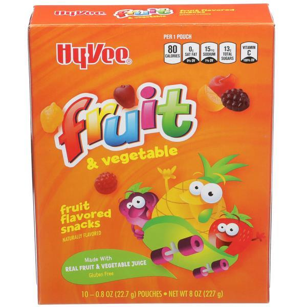 Hy-Vee Fruit Snack Variety Pack 10ct