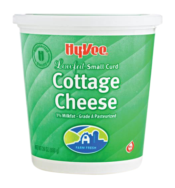 Hy Vee 1 Lowfat Small Curd Cottage Cheese Hy Vee Aisles