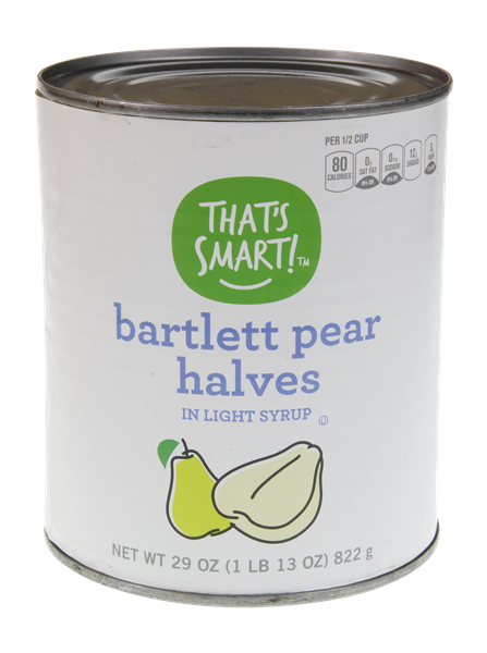 That's Smart! Bartlett Pear Halves in Light Syrup
