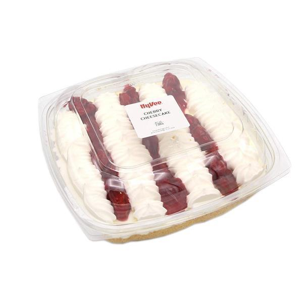 Hy-Vee Cherry Cheesecake