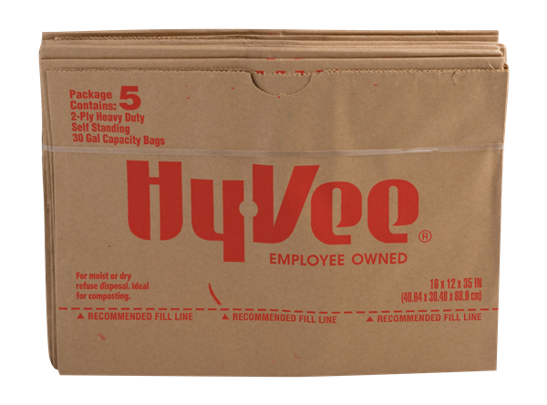 Hy-Vee Yard Waste Bag 5Ct