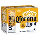 Corona Light Beer 12 Pk Slim Cans