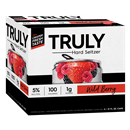 TRULY Hard Seltzer Wild Berry, Spiked & Sparking Water 6pk