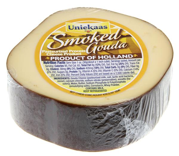 Holland Smoked Gouda Cheese Cut & Wrapped
