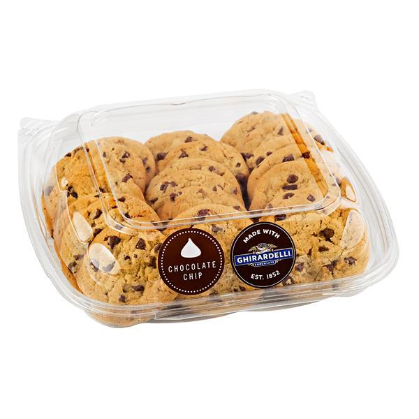 Mini Chocolate Chip Cookies with Ghirardelli Chocolate Chips - 20Ct