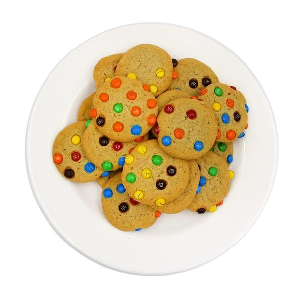 Mini Cookies with M&M's Candy - 20 Ct