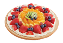 Small Fruit Pizza Ideal For the Smaller Gathering