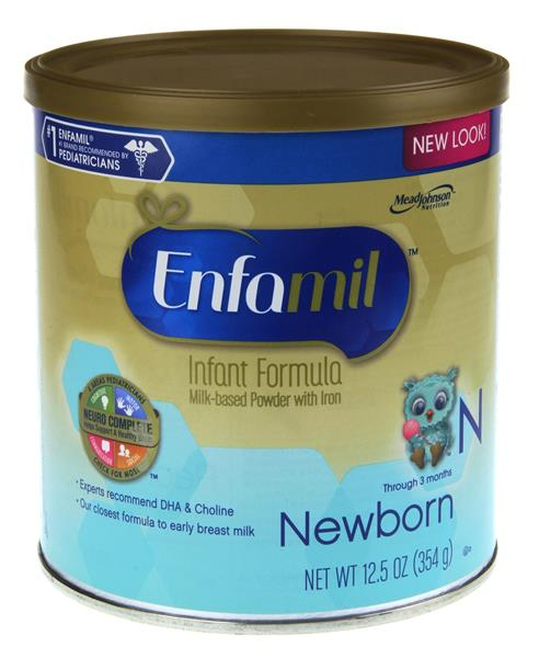 What are the ingredients in Enfamil Formula?