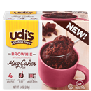 Udi's Gluten Free Brownie Mug Cakes Mix 4Ct