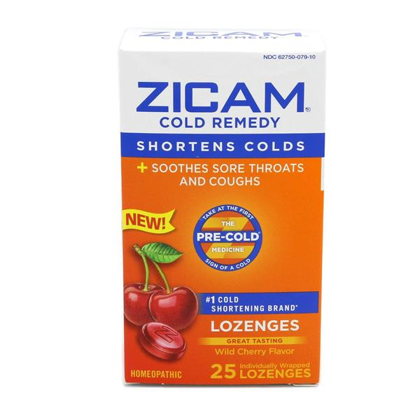 Zicam Cold Remedy Wild Cherry Lozenges Hy Vee Aisles