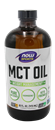 NOW Sports MCT Oil Weight Management, Pure Unflavored, Keto Friendly
