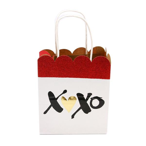 XO Scallop Small Gift Bag