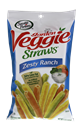 Sensible Portions Garden Veggie Straws Zesty Ranch