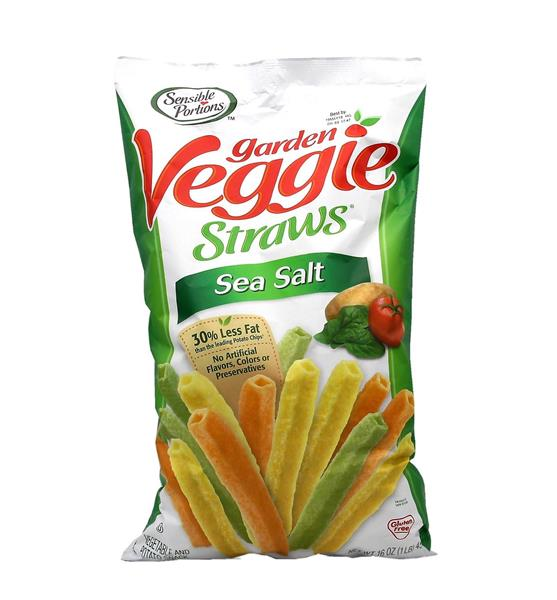 Sensible Portions Sea Salt Garden Veggie Straws Hy Vee Aisles Online Grocery Shopping