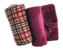 Home Collection Plaid Flannel Throw Set