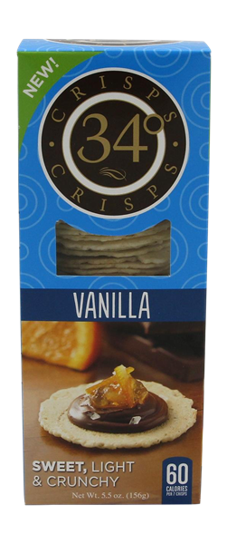 34 Degrees Vanilla Crisps