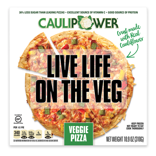CAULIPOWER Veggie Pizza
