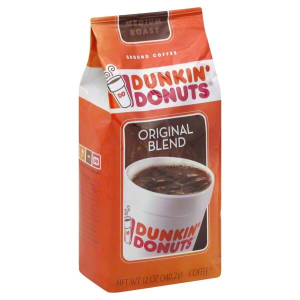 Dunkin Donuts Original Blend Medium Roast Ground Coffee
