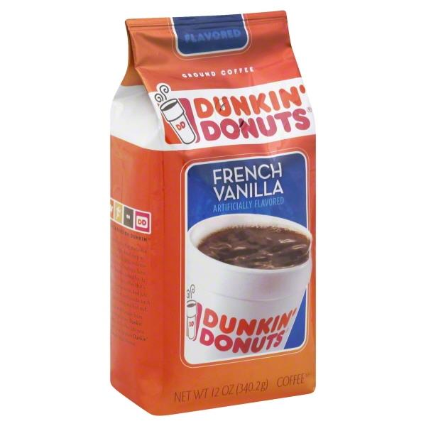 Dunkin Donuts French Vanilla Coffee